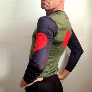 Tunsechy Shirts - Men's Athletic Anime Compression Shirt